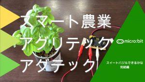 【自由研究】micro:bitでスイートバジルできるかな 完結編:経過報告とスマート農業のお話